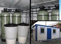 Станции водоподготовки в блочно-модульном блок контейнере